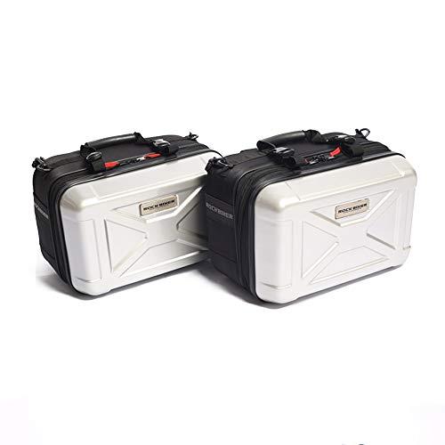 1 Paar Universal-Koffer-Set für Motorrad-Seitenkoffer, Hartschale, einfach zu installieren und zu bewegen