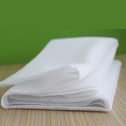 WEQQ Filtro de Grasa para Campana extractora de Cocina no Tejido, Papel de Filtro de contaminación de Cocina (Blanco)