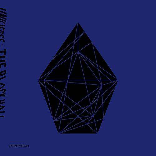 Cube Pentagon – Universum: The Black Hall (Vol.1) Album + Vorbestellung + extra Fotokarten-Set Nach unten Ver.
