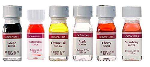 Lorann Oils Fruit Flavor (Pack of 6)