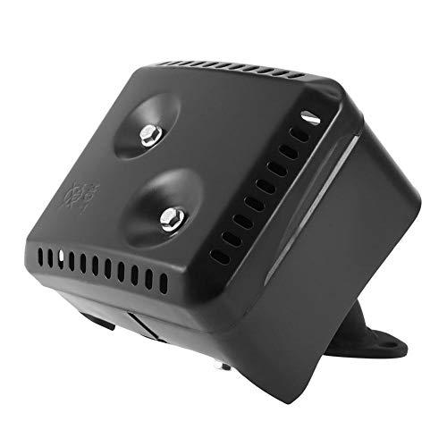Rockyin Schalldämpfer Honda, Abgas-Schalldämpfer-System mit Hitzeschild for Honda GX120 GX160 GX200 5.5 HP 6.5 HP