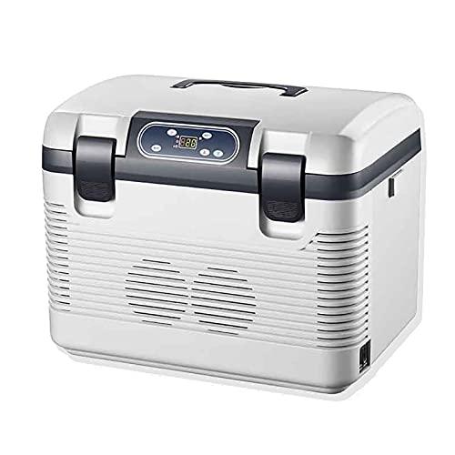 Mini Nevera Refrigerador congelador 19L, Nevera Portatil Electrica Coche y Casa Nevera para Conducir, Viaje, Uso doméstico