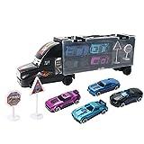 Vehículo for el preescolar Playset Partido favores del cumpleaños Juego Material de juguetes educativos for los niños edad 3 + 4 PCS Mini Tire Colección de coches Juguetes aleación clásico vehículo Vo