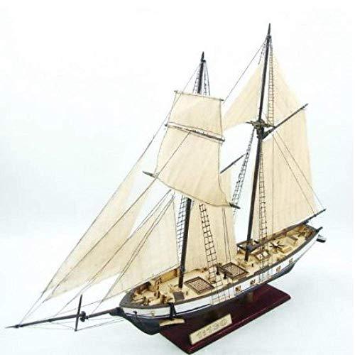 1yess Wohnzimmer Dekorationen Chem Segelboot Modell Montage Modell Kits Klassische Holz Segelboot Modell 1847 Waage Holz Modell 8bayfa