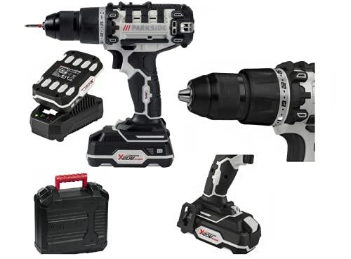 Parkside PBSA 20-Li A1 - Taladro atornillador de 2 velocidades (20 V, edición limitada)