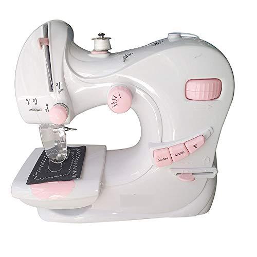 HFXZ2018 Mini máquina de Coser, Aguja Doble Costura de Doble ...