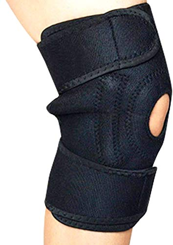 Verstellbare Magnetkniebandage - PATELLA SUPPORT mit Magnet-Therapie - Adjustable Magnetic Knee Support - PATELLA SUPPORT with magnet therapy