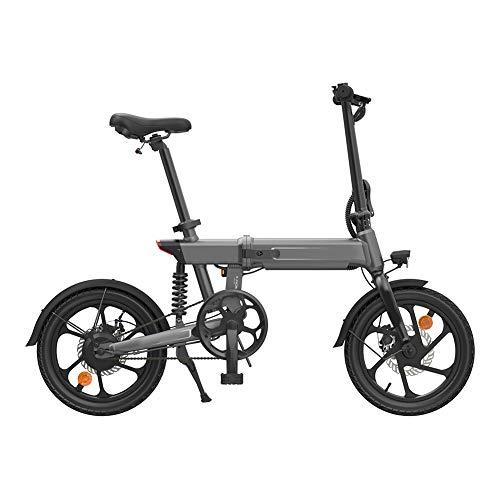 lzndeal Bici Elettrica, Bicicletta Elettrica, Bici Elettrica Pieghevole, Portatile Antiscivolo Regolabile 36V 250W Motore Senza Spazzole Batteria Bici Elettrica da Montagna in Alluminio Uomo Adulto