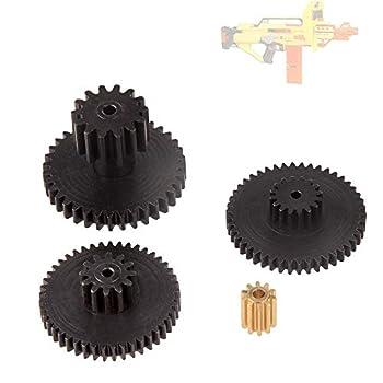 WORKER Upgraded Gear Mod Kit Set for Nerf N-Strike Stampede ECS