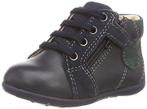 Geox Baby Jungen B Kaytan C Sneaker, Blau (Navy/Dk Green C4428), 23 EU
