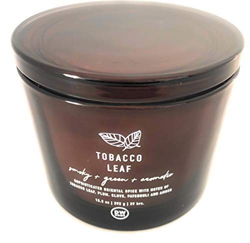 DW Home Tobacco Leaf Candle with Lid 10.3 Oz