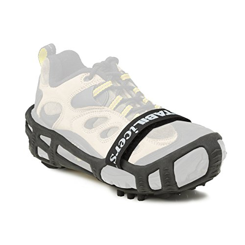 STABILicers Walk with Powder Strap, Snow and Ice Traction Cleats for Shoes and Boots, Made in USA, B