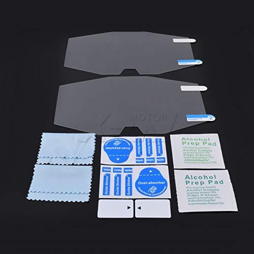 KYN for Suzuki GSXR1000 L7 2017 2018 GSX-R1000 GSXR 1000 Motorrad Scratch Cluster Bildschirmschutz Filmschutz Instrumentenblöcke Schutzfilm
