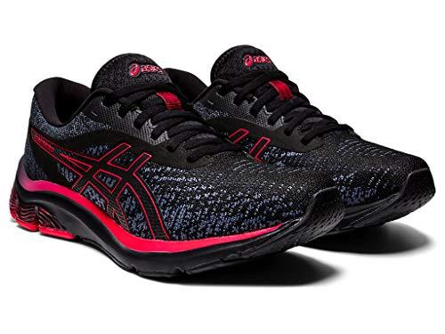 ASICS Mens Gel-Pulse 12 MK Running Shoes, 12.5M, Black/Black