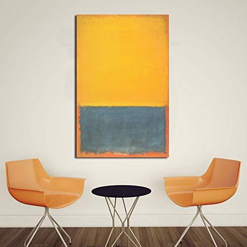 HCHD Mark Rothko Klassische Stillleben Ölgemälde Wohnzimmer Leinwand Moderne Bilder for Art Kein Rahmen Leinwand-Malerei (Size (Inch) : 24X36)