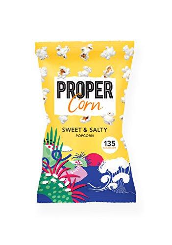 Propercorn Probercorn Popcorn süß-salzig - Sweet & Salty Snack-Packung zum Teilen, 90 g