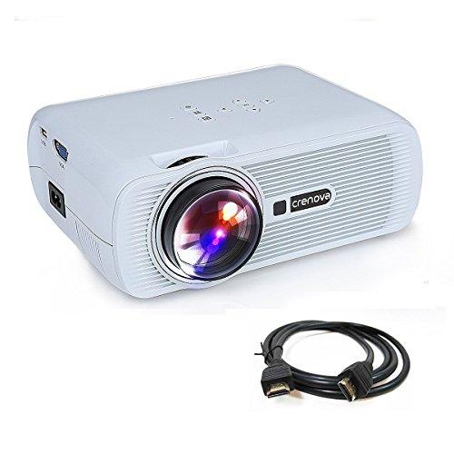Crenova XPE460 - Proyector LED, Upgrade...