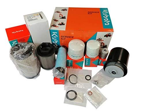 Wallentin & Partner | Kubota Bagger Filter-Kit für Kubota Bagger KX16-4 / KW18-4 / KW19-4 | Kubota Bagger Filter-Set