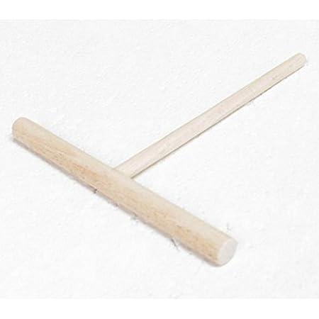 Rateau à crêpe Rond en hêtre Crêpière Répartiteur à crêpes avec spatule