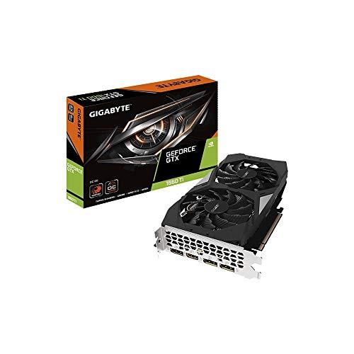 Gigabyte - Ventola Nvidia GTX1660Ti OC 6G, GV-N166T-OC-6GD