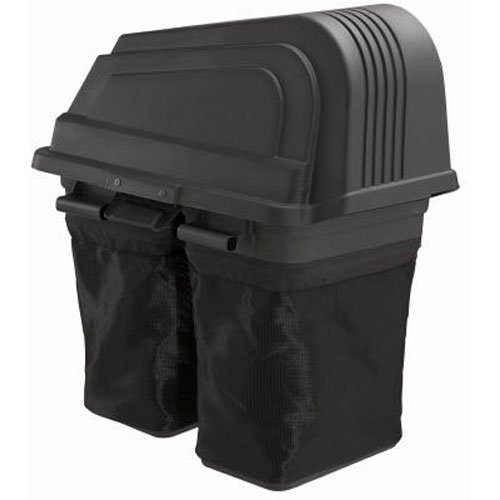 Soft-Sided 2 Bin Grass Bagger Item #960730024 , Fits all Poulan Pro 46-inch Riding Lawn Mowers