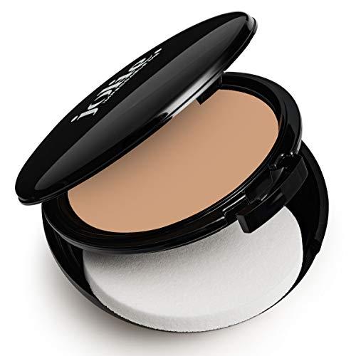 Creme Foundation SPF-15 Full Coverage Makeup W/Sponge (Soft Natural)