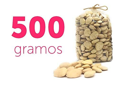 Almendras Marcona crudas Peladas 500g - Sin Piel - La mejor para repostería y hacer turrón (500)