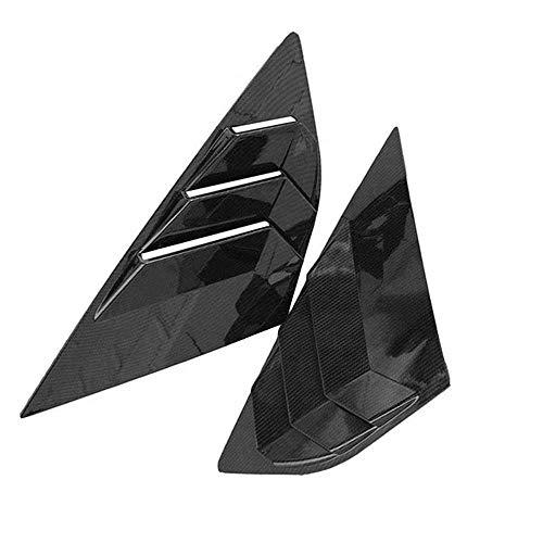 KenKER Auto Heckscheiben-Dreieck-Fensterläden, passend für Ford Focus ST RS MK3