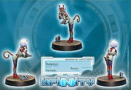 Daktaris (Doctor) (1) Nomads Infinity Corvus Belli by Corvus Belli