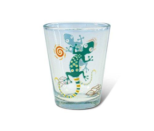 Clear Shot Glas Gecko
