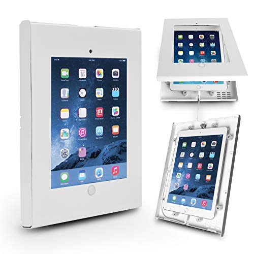 Anti-Theft Tablet Security Case Holder - Metal Heavy Duty Vesa Wall Mount...