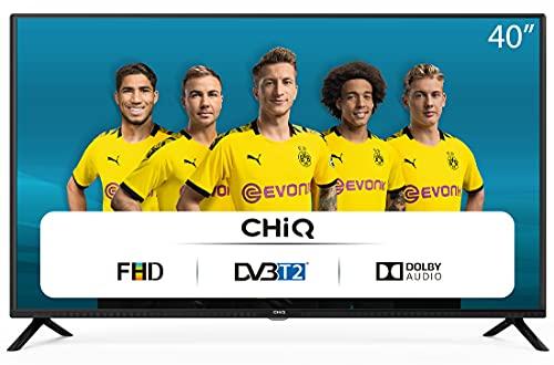 CHiQ L40G4500 40 Full HD LED LCD TV,40 Pouces (101cm), titple tunner (DVBT / T2 / C / S2), Lecteur Multimédia Via Port USB Téléviseur,Dolby Audio,3 HDMI, 2 USB, Direct LED