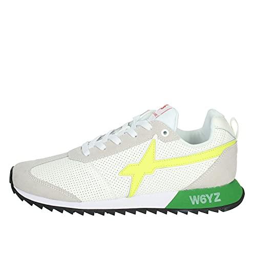 sneakers uomo wizz W6YZ WIZZ 2282AD Sneaker Uomo Fly-M Scarpe Leather/Suede Shoes Man [45]