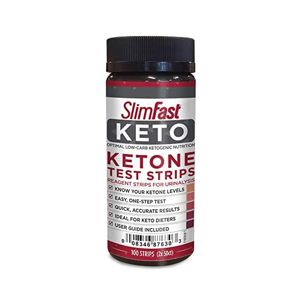 buy  SlimFast Keto Ketone Test Strips, Pantry Friendly, ... Diabetes Care