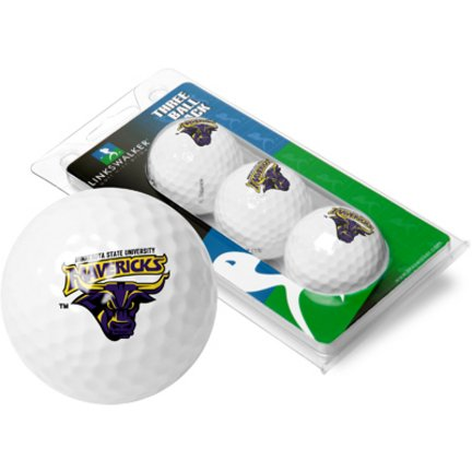 Great Deal! LinksWalker Minnesota State-Mankato Mavericks 3 Golf Ball Sleeve (Set of 3)