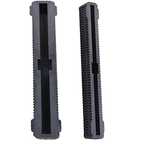 Fin-Box, Zubehör für Longboard, Surfbrett, 26,7 cm, schwarz, 2 Stück