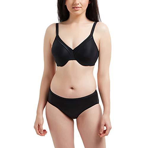Wacoal Women's Plus Size Perfect Primer Underwire Bra, Black, 40I