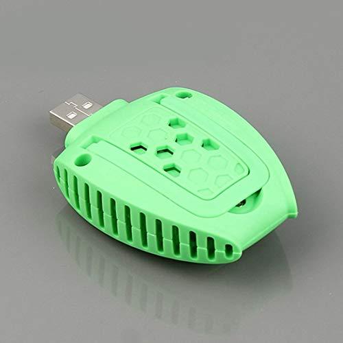 Asesor de Mosquitos eléctrico eléctrico Alimentado por USB portátil Sunshine20 (Color : White)