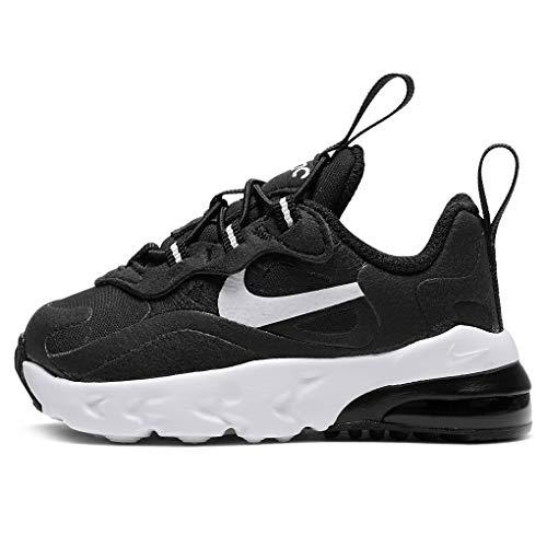 Nike AIR Max 270 RT (TD), Basket, Black White Black, 25 EU