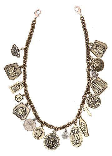 Campomaggi Collar medieval Catena Ciondoli C018710ND