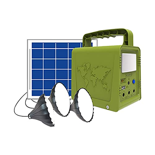 Central Eléctrica Portátil Central Eléctrica Portátil, Generador Solar De 42Wh Con Panel...