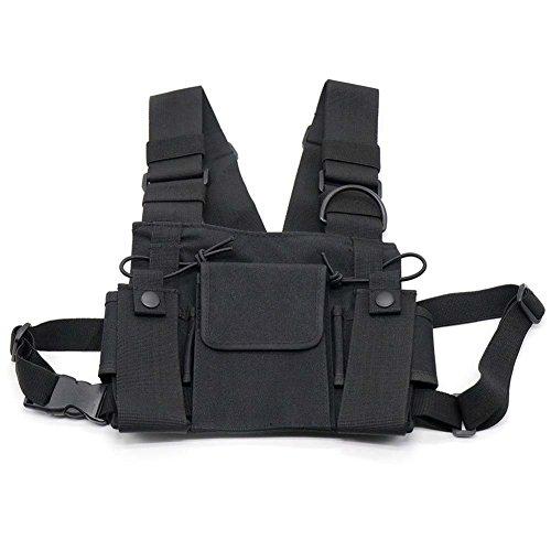 Cutogain Brusttasche für Funkgeräte der Marke Motorola, Baofeng, Kenwood, 3 Taschen
