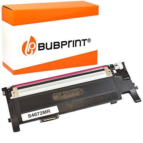 Bubprint Toner kompatibel für Samsung CLT-M4072S/ELS für CLP-320 CLP-320N CLP-325 CLP-325N CLP-325W CLX-3180 CLX-3185 CLX-3185FN CLX-3185FW CLX-3185N CLX-3185W Magenta