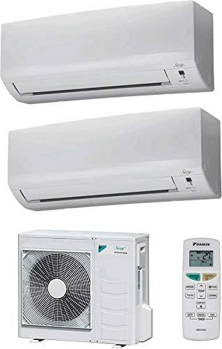 Climatizzatore Dual Split Inverter 12000 + 12000 Btu, Classe A++/A+, Serie Siesta