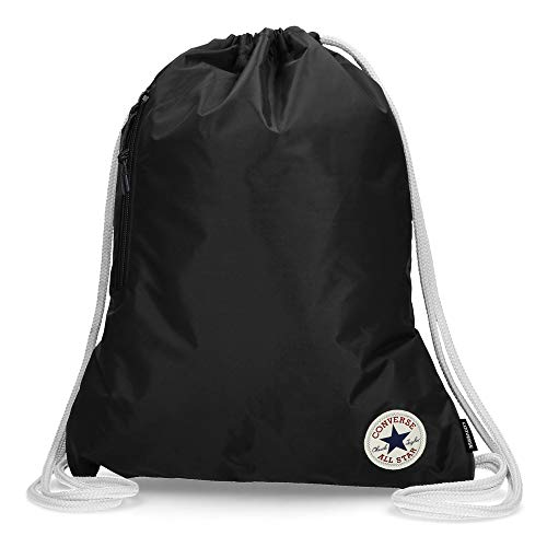 Converse Unisex Turnbeutel Cinch Gym Bag Black (schwarz)