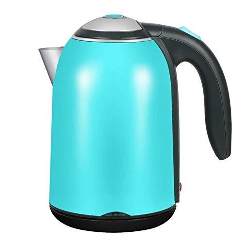 Bouilloire électrique GJJSZ,chaudière à eau en acier inoxydable de qualité alimentaire de 1,7 L,bouilloire à eau chaude gratuite à ébullition rapide avec arrêt automatique et protection à l'ébullition