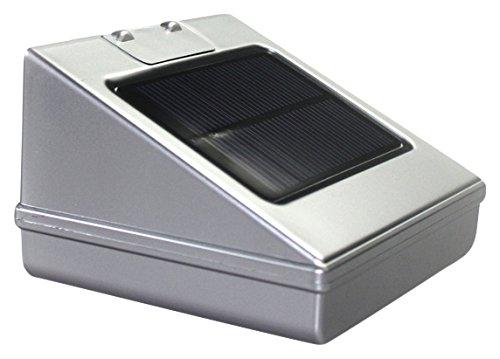 DYMOND dymsolarlamp59703 bewegingsmelder lamp zonne-energie buiten glas meerkleurig