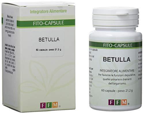 Fitofarmaceutica Betulla - 60 Capsule Gelatina Vegetale