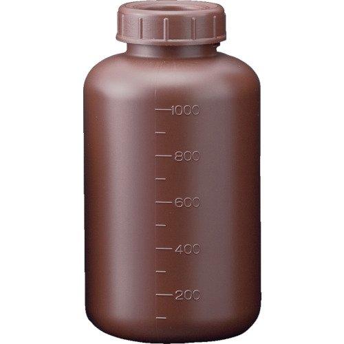サンプラ フロロバリア遮光広口瓶 1L 26231