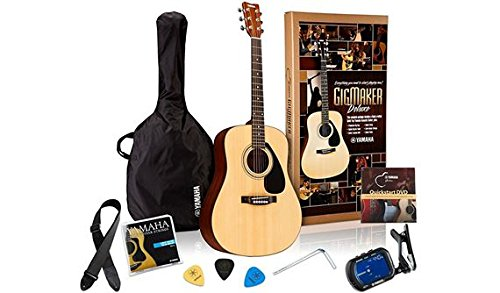 Best Value: Yamaha Gigmaker Deluxe Acoustic Guitar Package